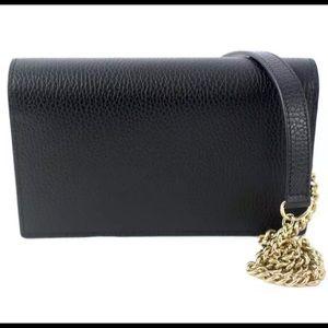 008eeb5bae4 Gucci Bags - Gucci authentic black leather crossbody bag